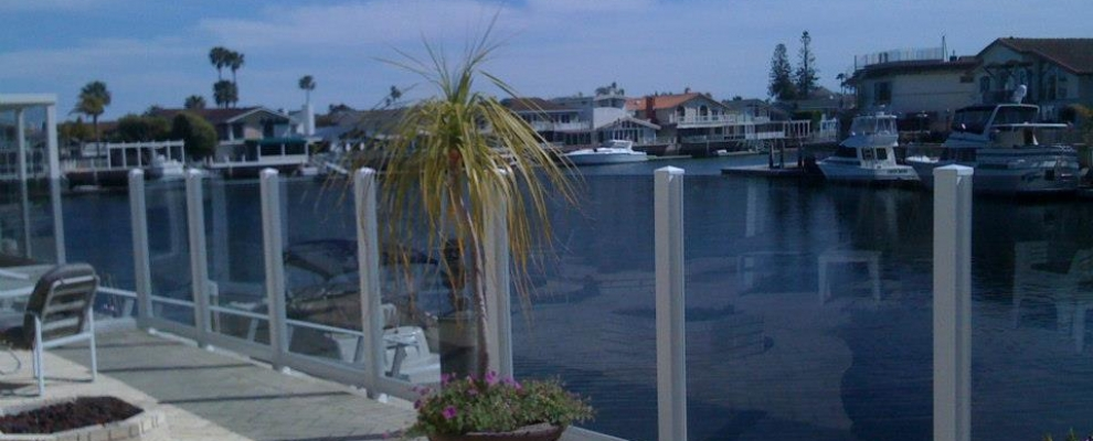 Custom Windscreen – Huntington Harbor , Ca.
