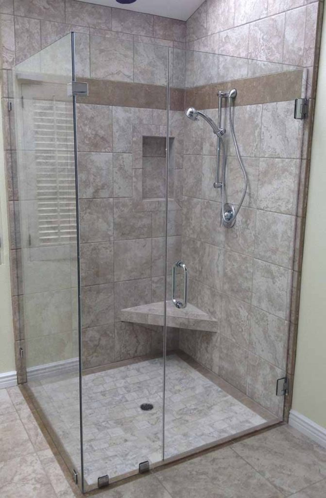 Custom Shower Enclosure Wheelchair Access